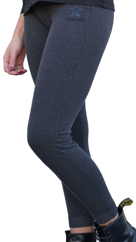 converse converse fleece hoodie pantalone tuta donna grigio