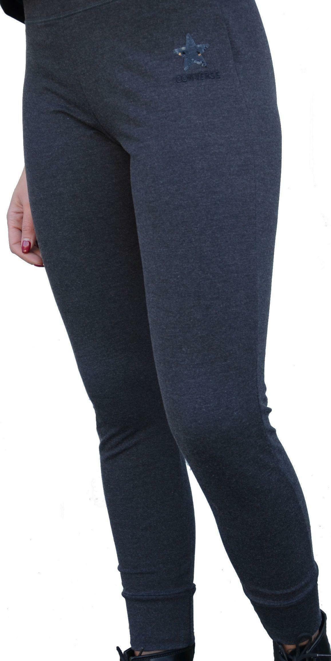 converse converse pantalone tuta donna grigio