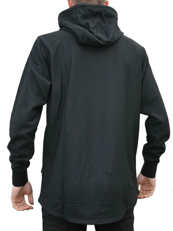new era new era stealth po hoody maglia uomo nera