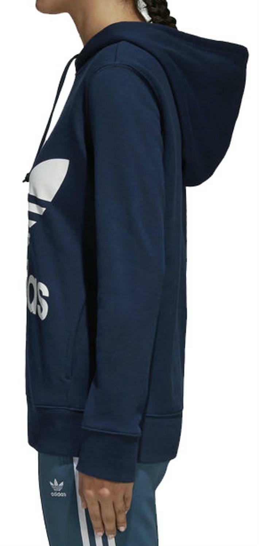 adidas originals adidas trefoil felpa donna blu