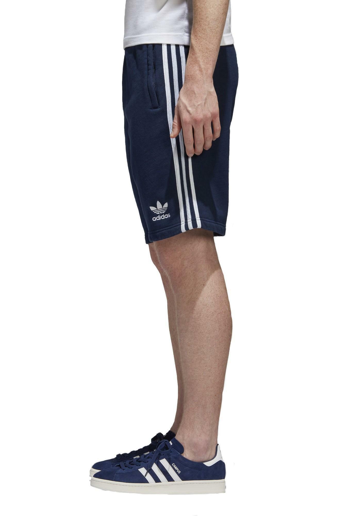 adidas adidas 3-stripes pantaloncini uomo blu cw2438