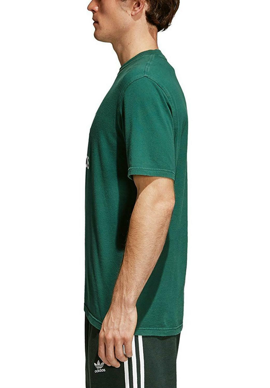 adidas adidas originals trefoil t-shirt uomo verde