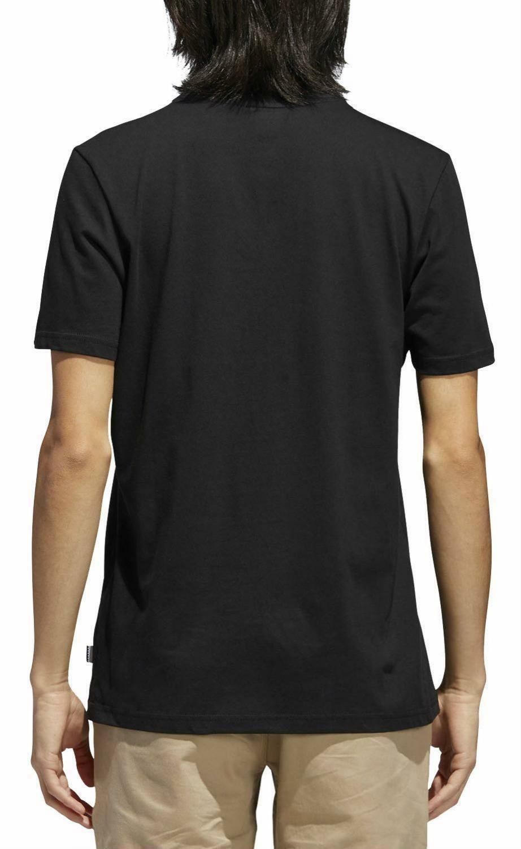 adidas adidas originals solid bb t-shirt uomo nera cw2339