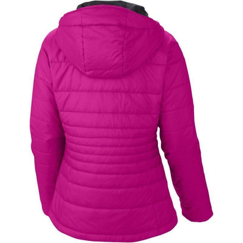 columbia go to hooded jacket piumino termico donna fuxia wl5435 650