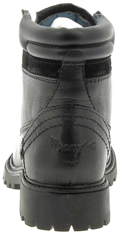 wrangler wrangler creek leather scarponcini donna neri