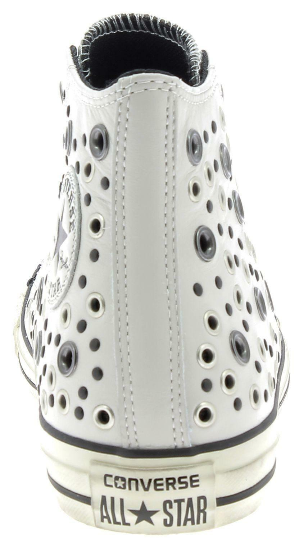 converse converse ctas distressed hi scarpe sportive bianche