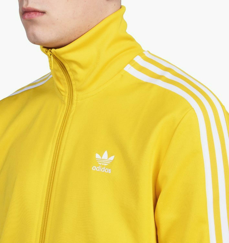 adidas adidas beckenbauer tt giacchetto uomo giallo