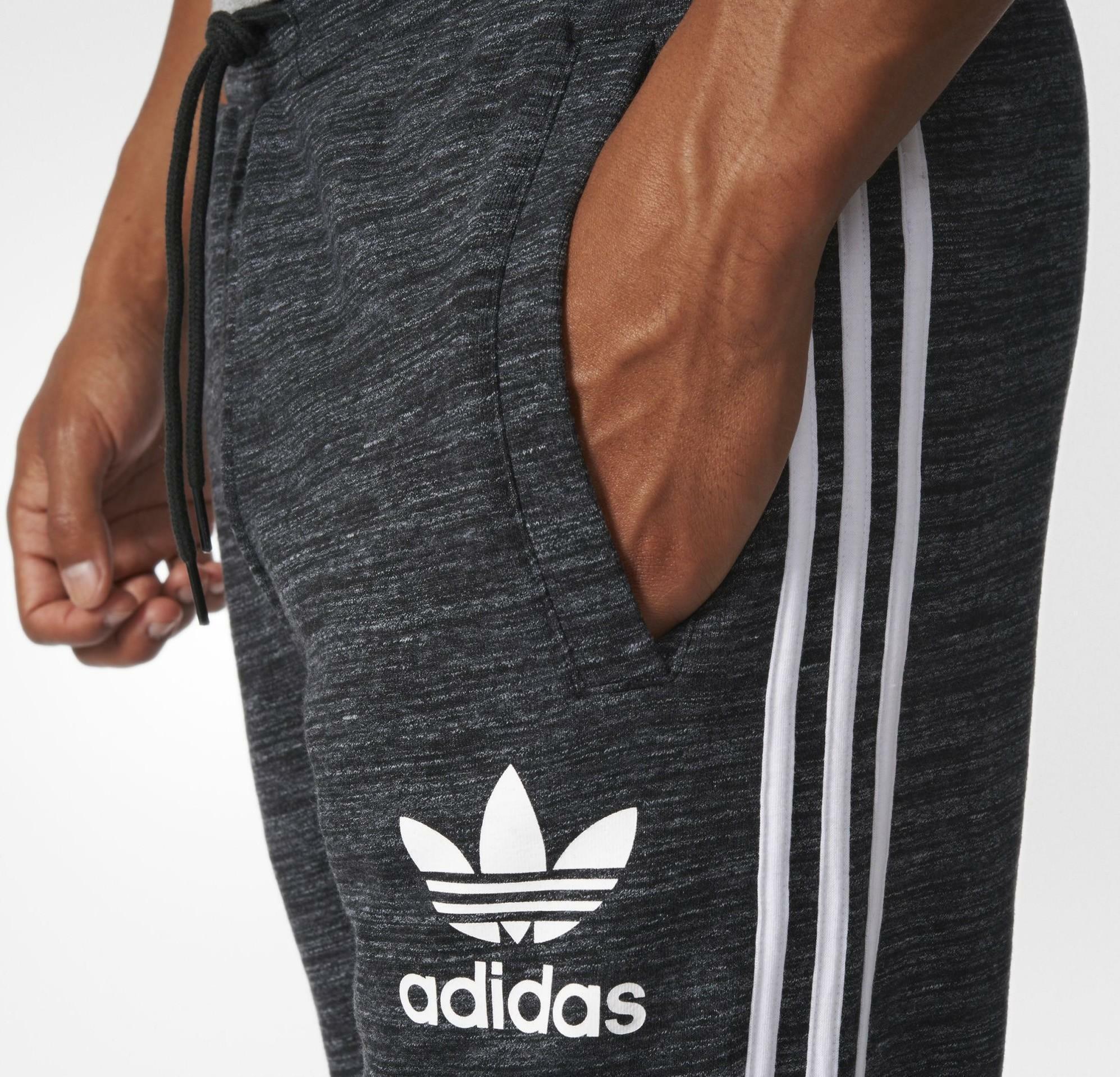 adidas originals clfn pantaloni tuta uomo grigi