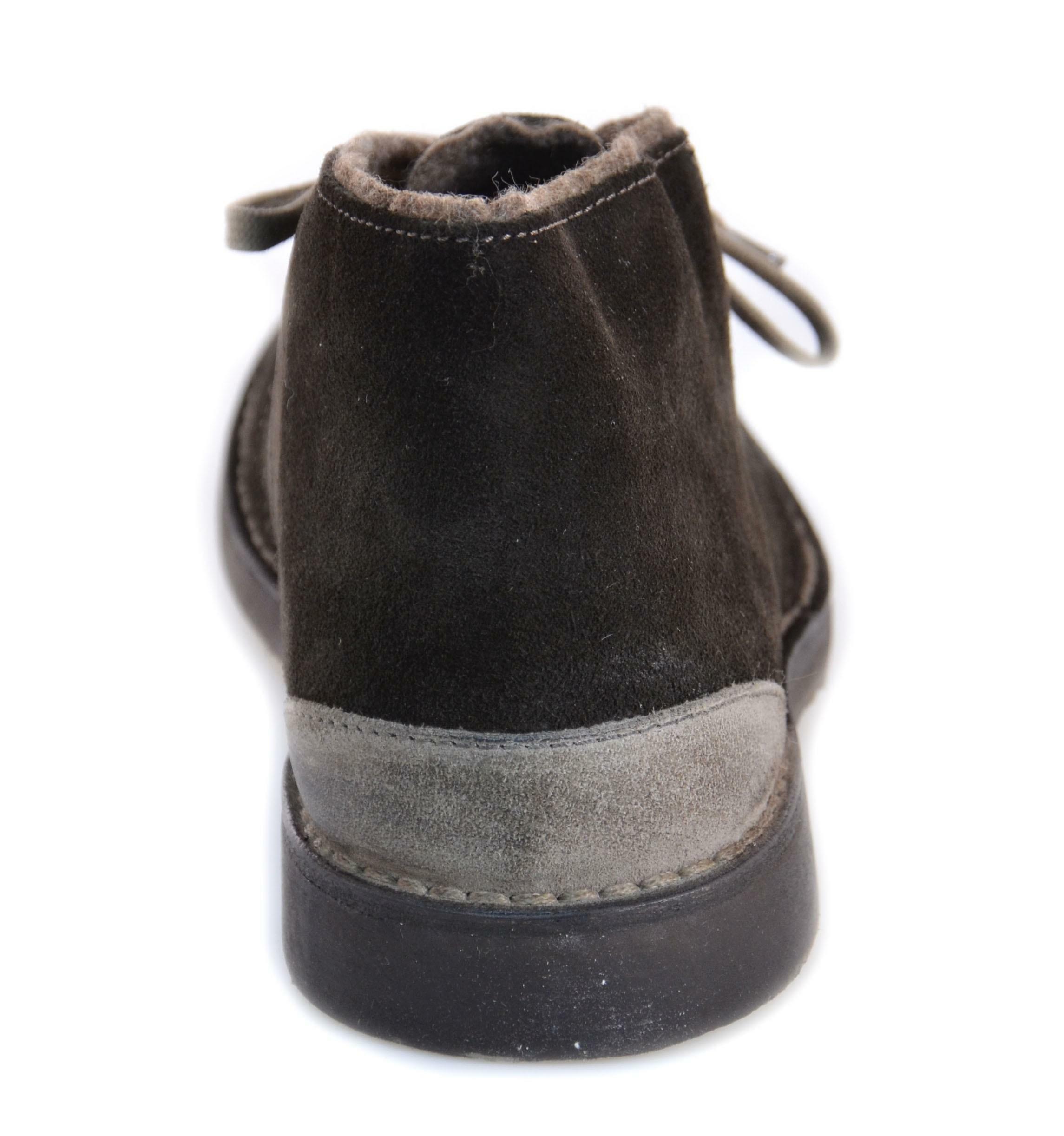 cafnoir cafnoir scarponcino uomo marrone testa di moro pelle scamosciata ttd600