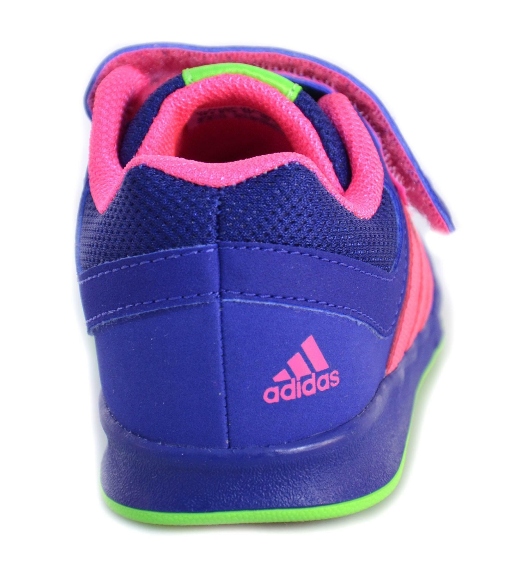 adidas adidas lk trainer 6 cf i scarpe bambina viola pelle strappi m20050