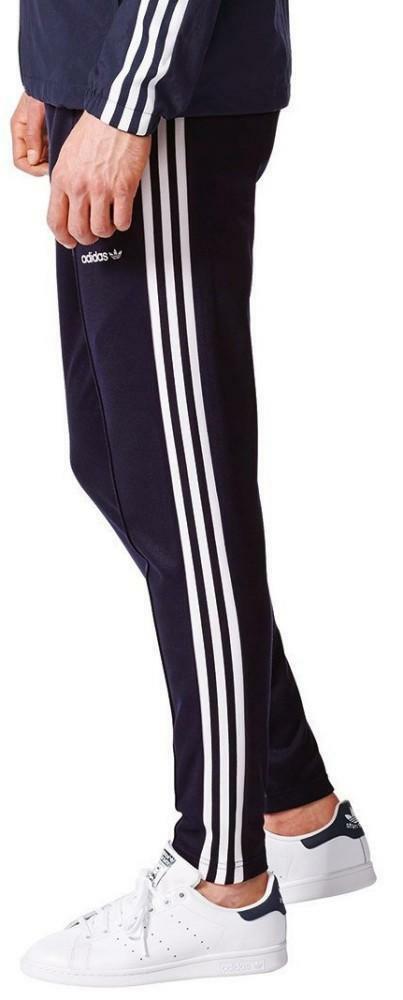 adidas adidas bb open hem tp pantalone tuta uomo blu