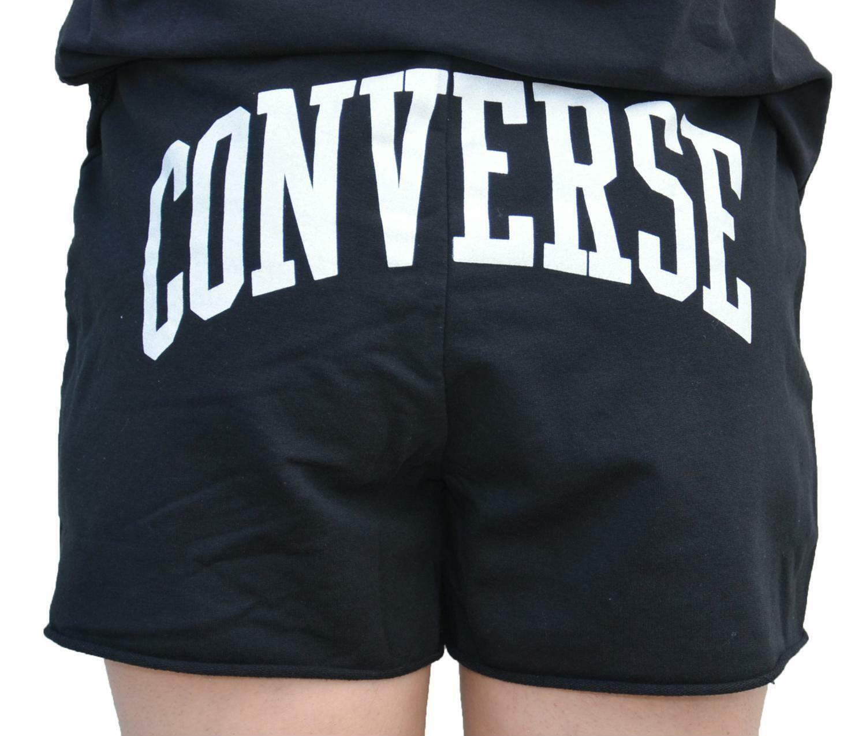 converse converse pantaloncini neri donna 7430a05