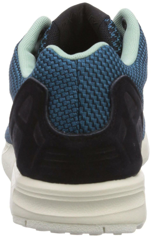 adidas adidas zx flux weave scarpe sportive uomo verdi viola b34470