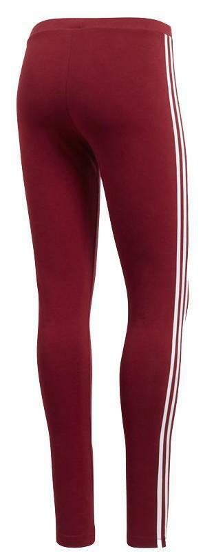 adidas adidas 3 str tight leggings donna bordeaux