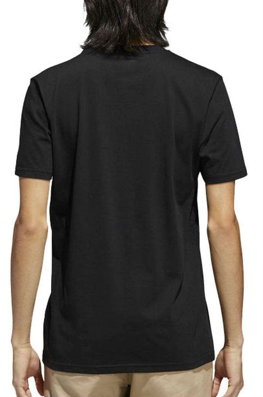 adidas adidas originals bb warp tee t-shirt uomo nera cf3097