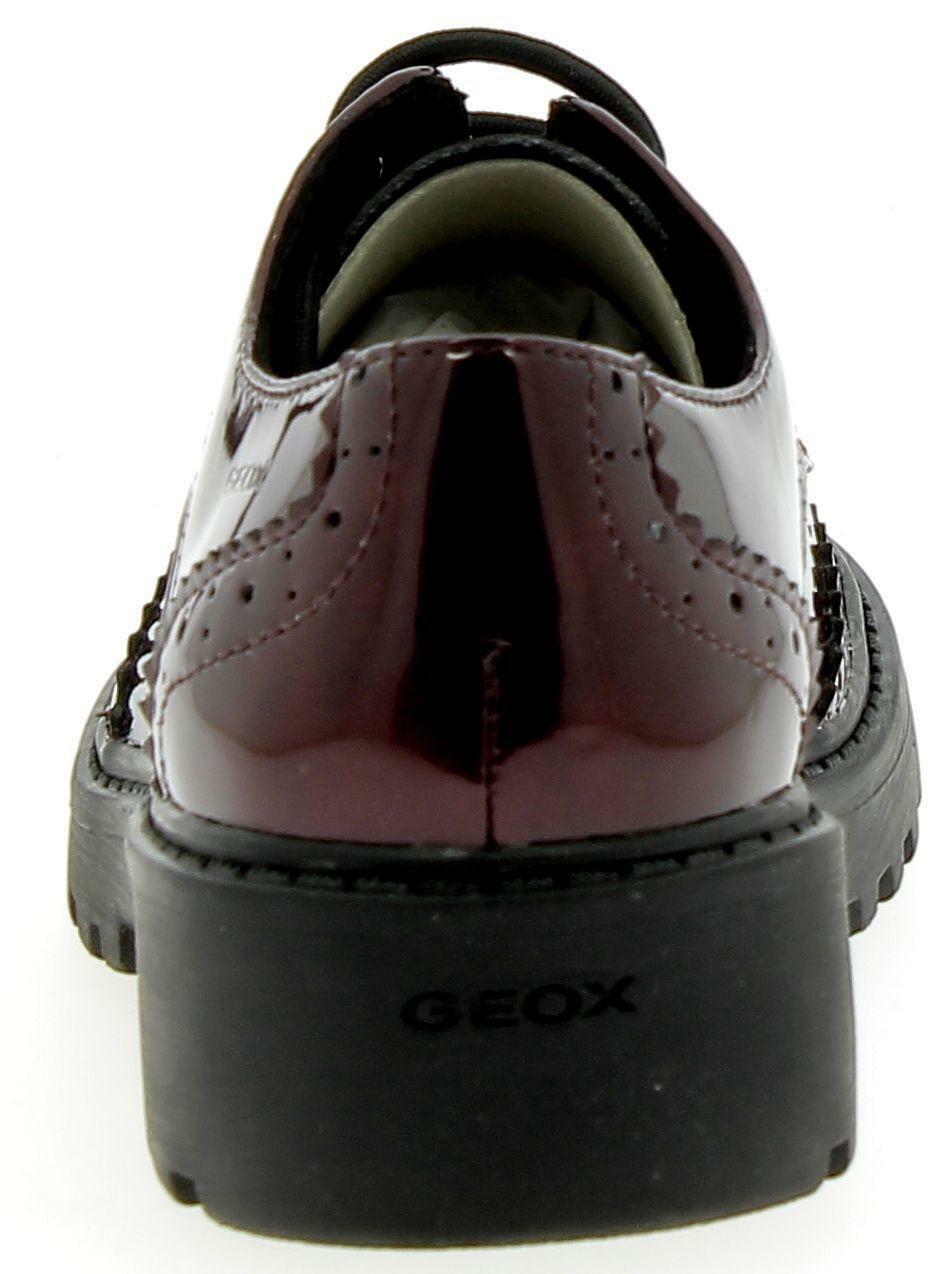 geox geox j casey g. k scarponcini  bordeaux lucidi