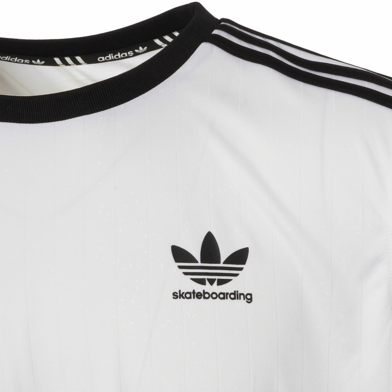 adidas adidas clima club jers t-shirt uomo bianca