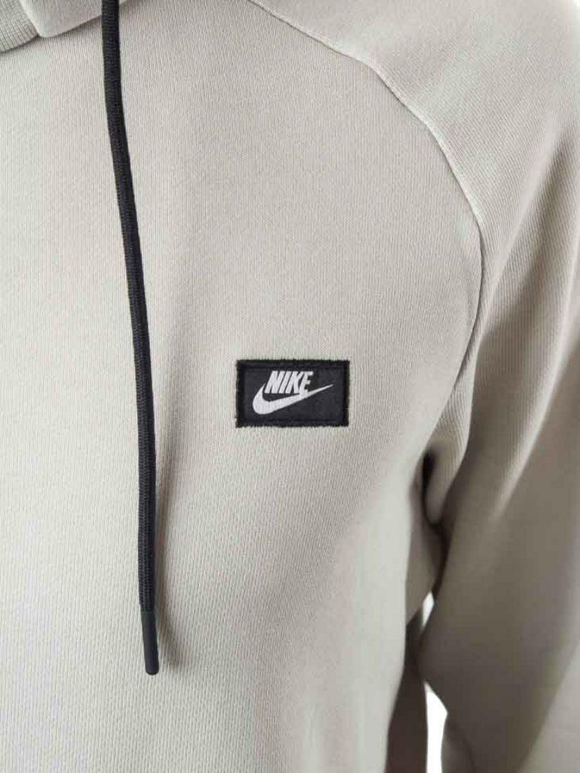 nike nike modern hoodie felpa uomo grigia