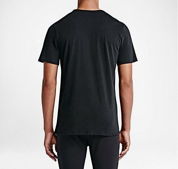 nike nike run city t-shirt maglia nera uomo 685567
