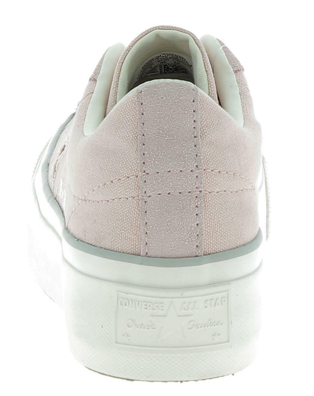 converse converse one star platform scarpe sportive donna rosa