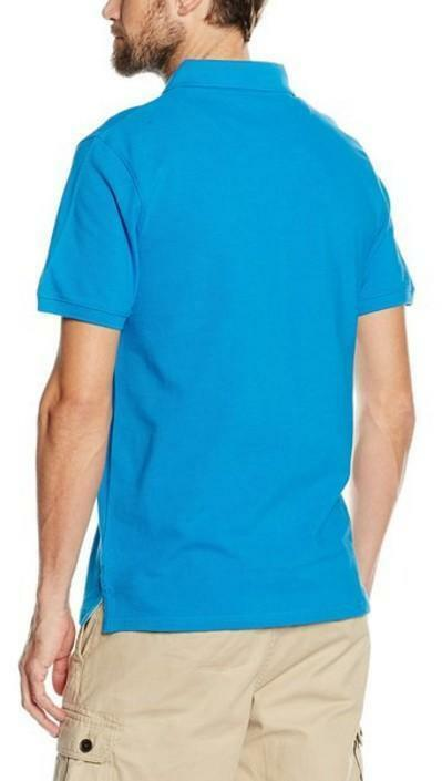 timberland timberland slim millers river polo uomo azzurra 100% cotone a1a2p441