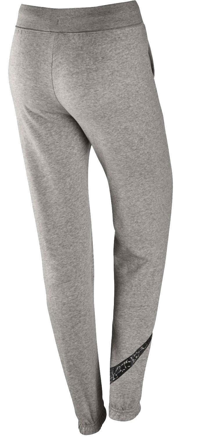 nike nike pantalone donna grigio