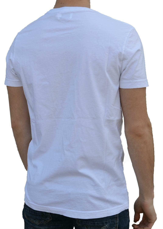 converse converse t-shirt uomo bianca 7301a01