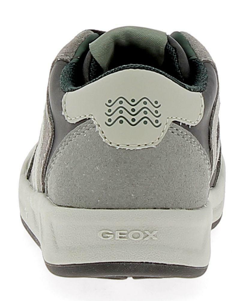 geox geox j rolk scarpe sportive grigie