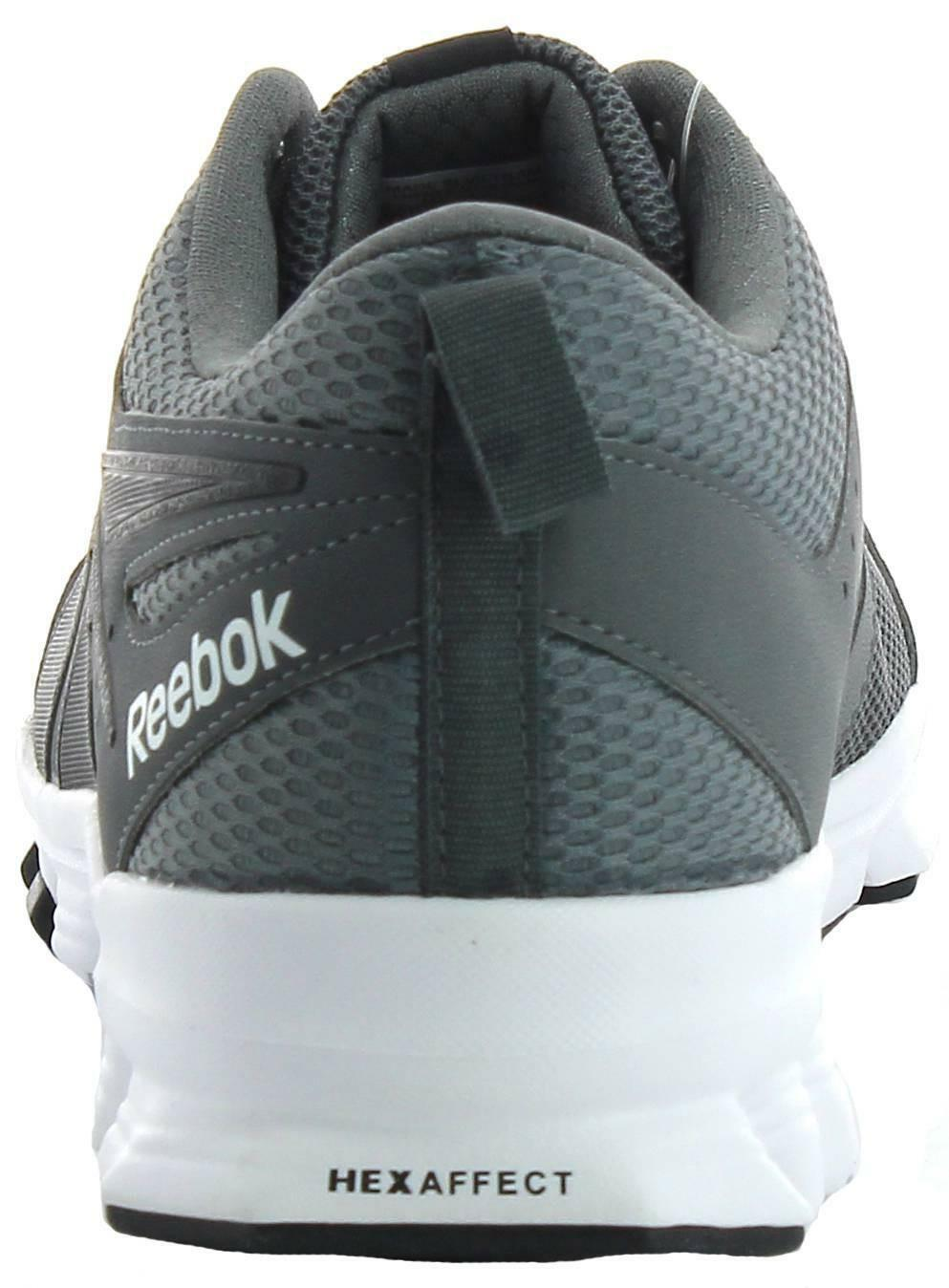 reebok reebok hexaffect sport scarpe sportive uomo grigie