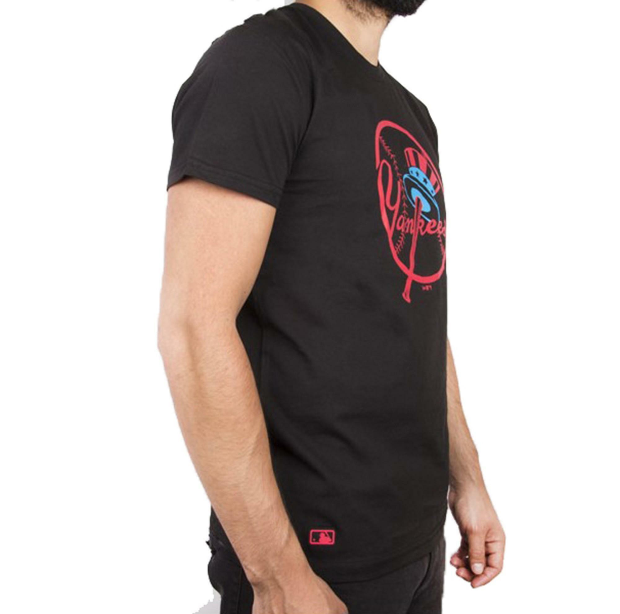 new era new era mlb nights t-shirt uomo 11517760