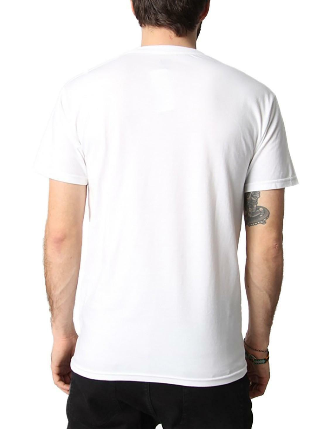 obey obey typewritter t-shirt uomo bianca 165371657wht