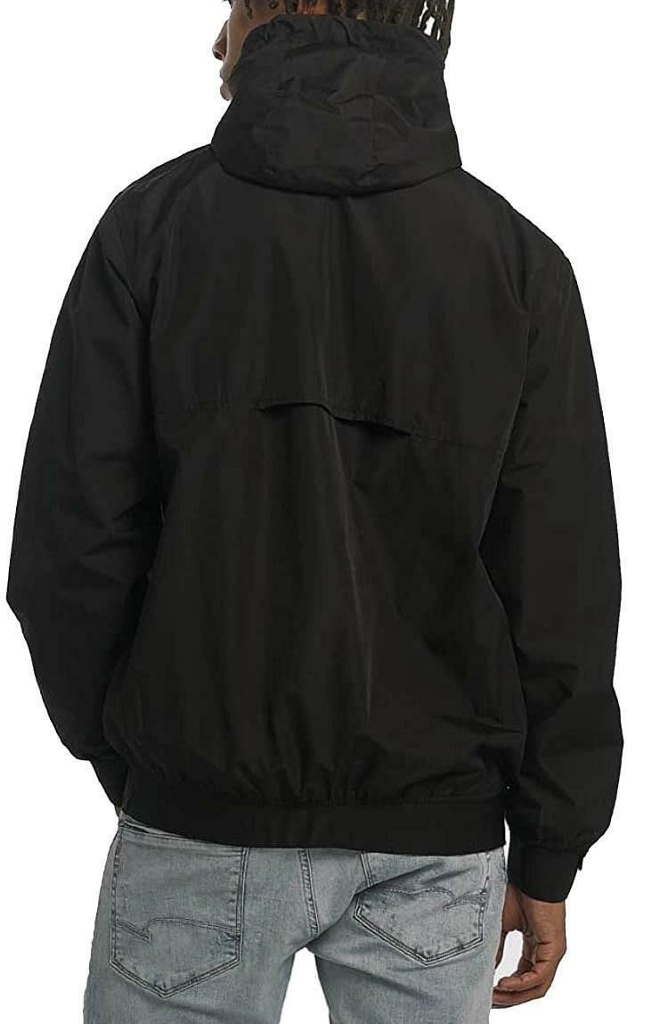 new era new era mlb nights windbreaker giacchetto uomo nero 11517754