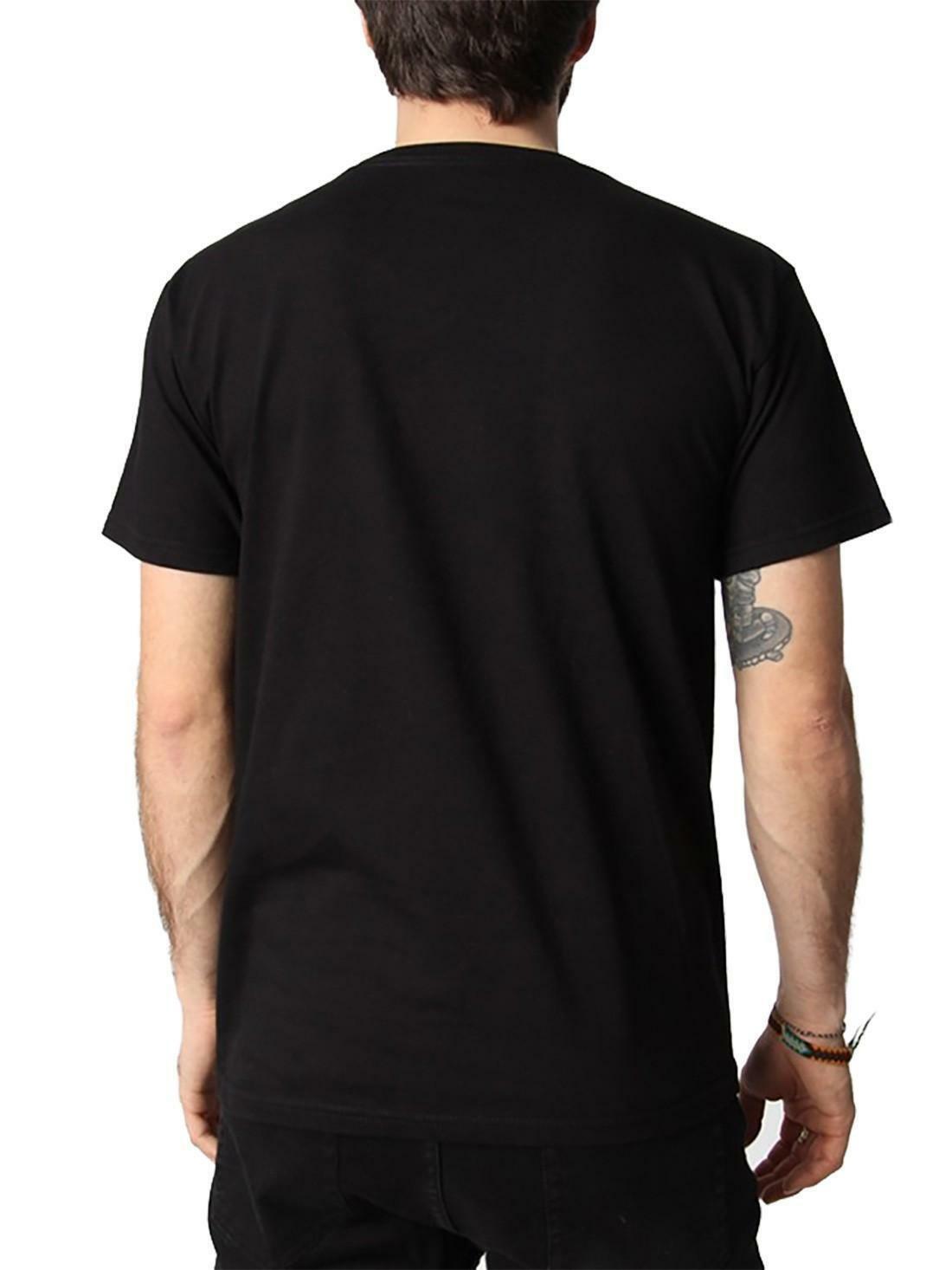 obey obey typewritter t-shirt uomo nera 165371657blk