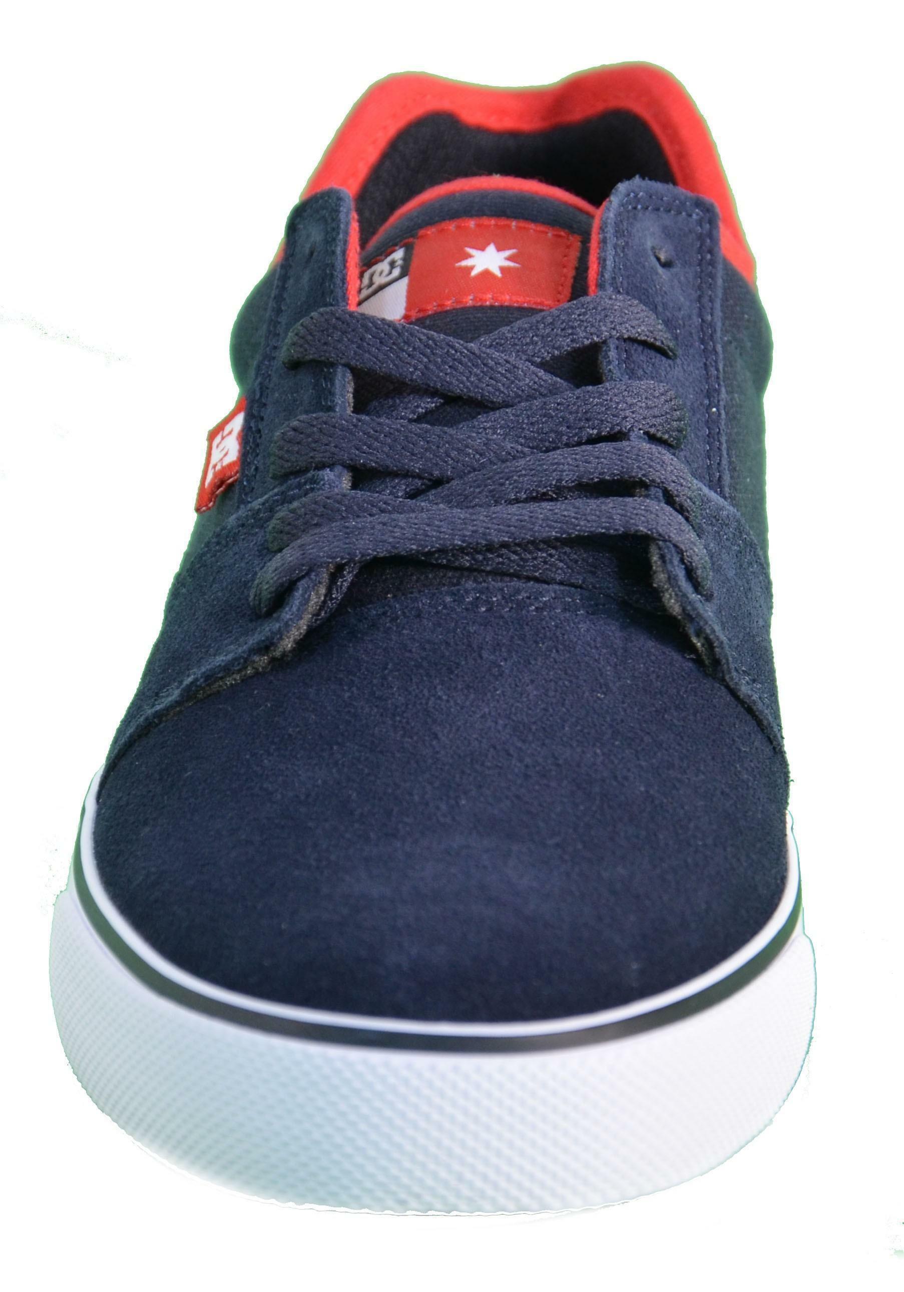 dc dc shoes tonik s scarpe uomo blu pelle 302890