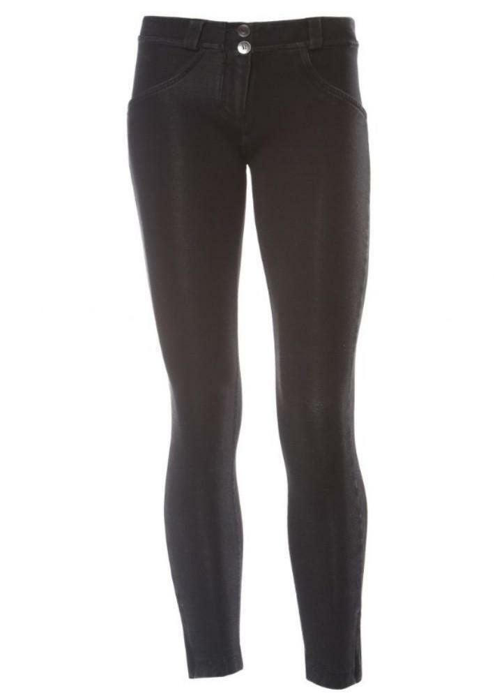 freddy pantalone da donna nero elasticizzato