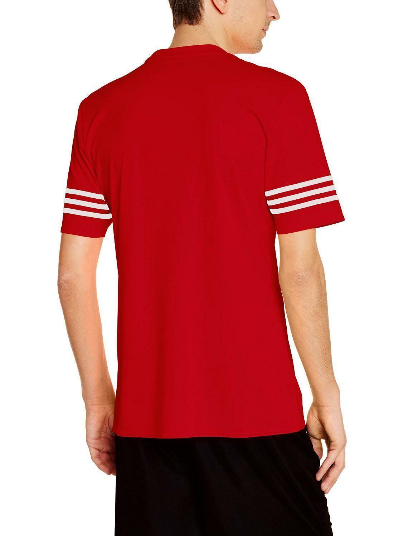 adidas adidas entrada 14 jsy t-shirt bambino rossa f50485