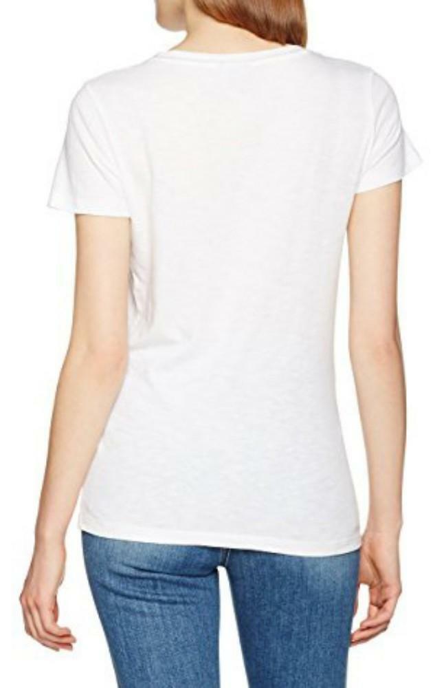 napapijri napapijri solola t-shirt donna bianca