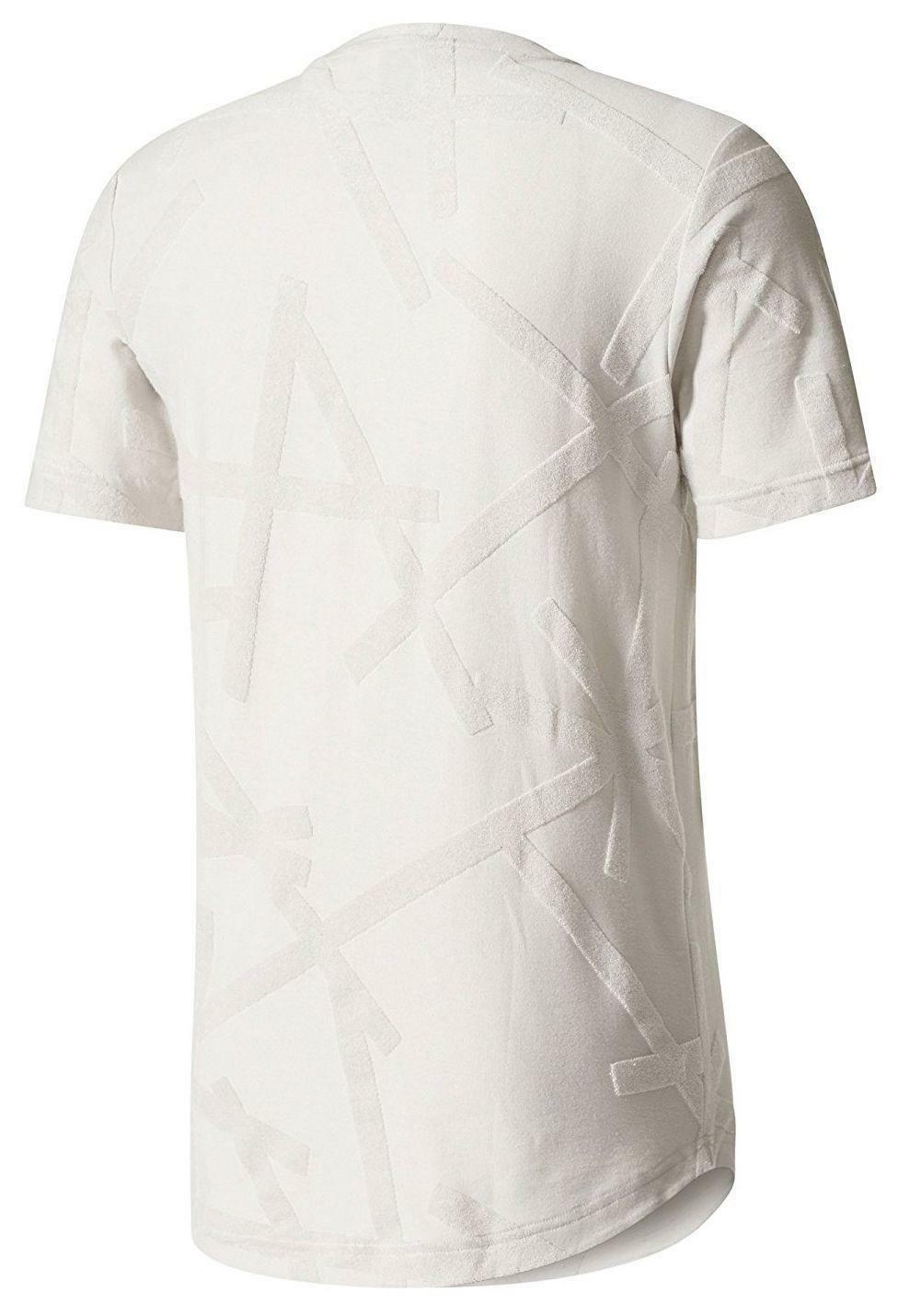 adidas adidas id terry loop t-shirt uomo