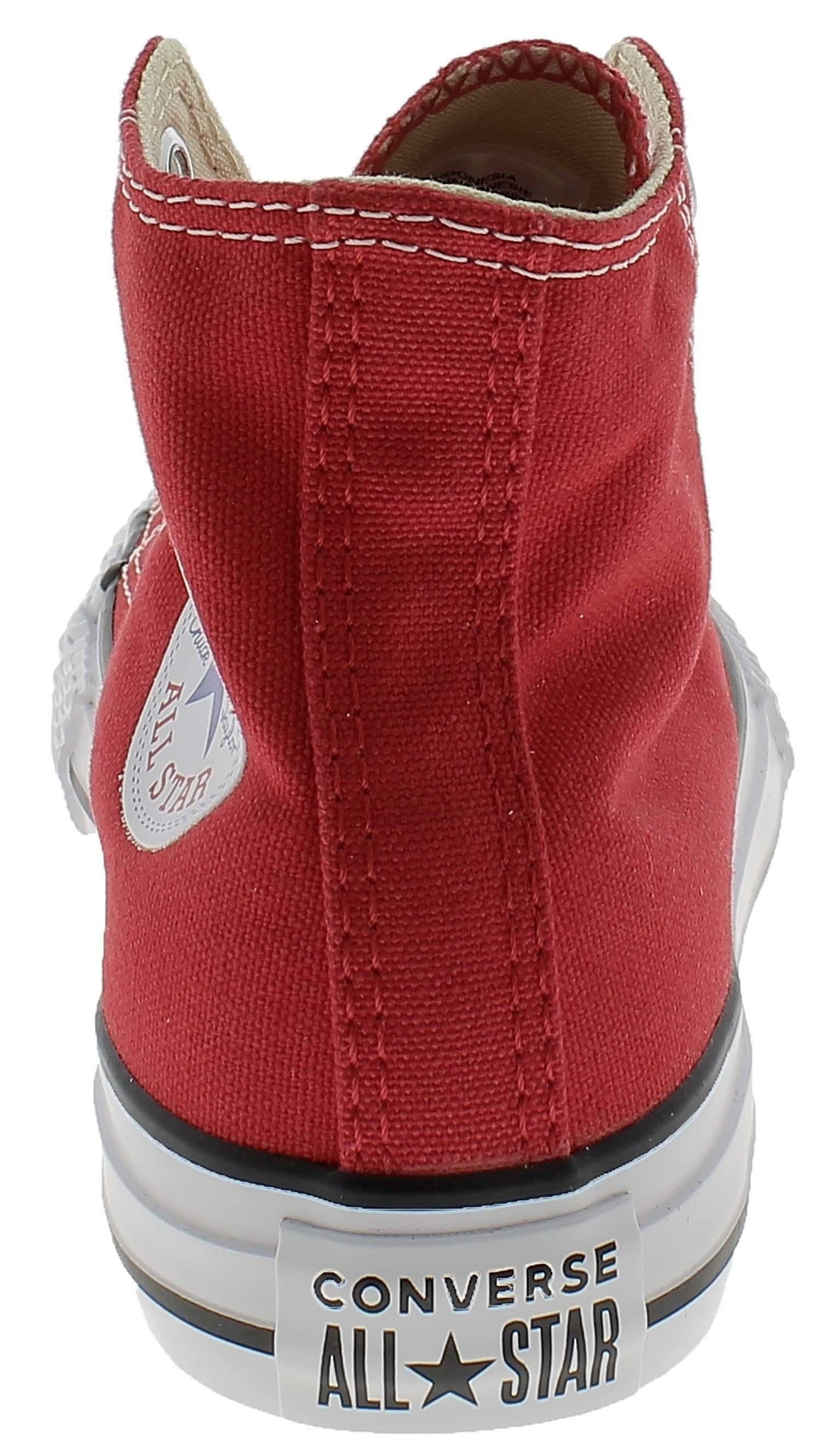 converse converse all star ct scarpe sneakers alte hi rosse red bambino 3j232c