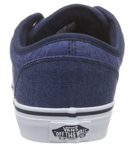 vans vans atwood scarpe tessuto blu 3z9idl