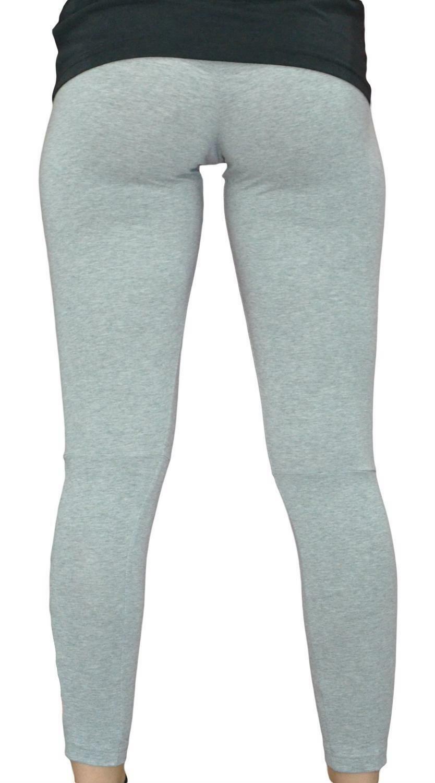 adidas adidas ess lin thight leggings donna grigi cz5741