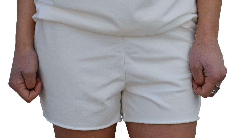 converse converse pantaloncini donna bianchi  7430a01