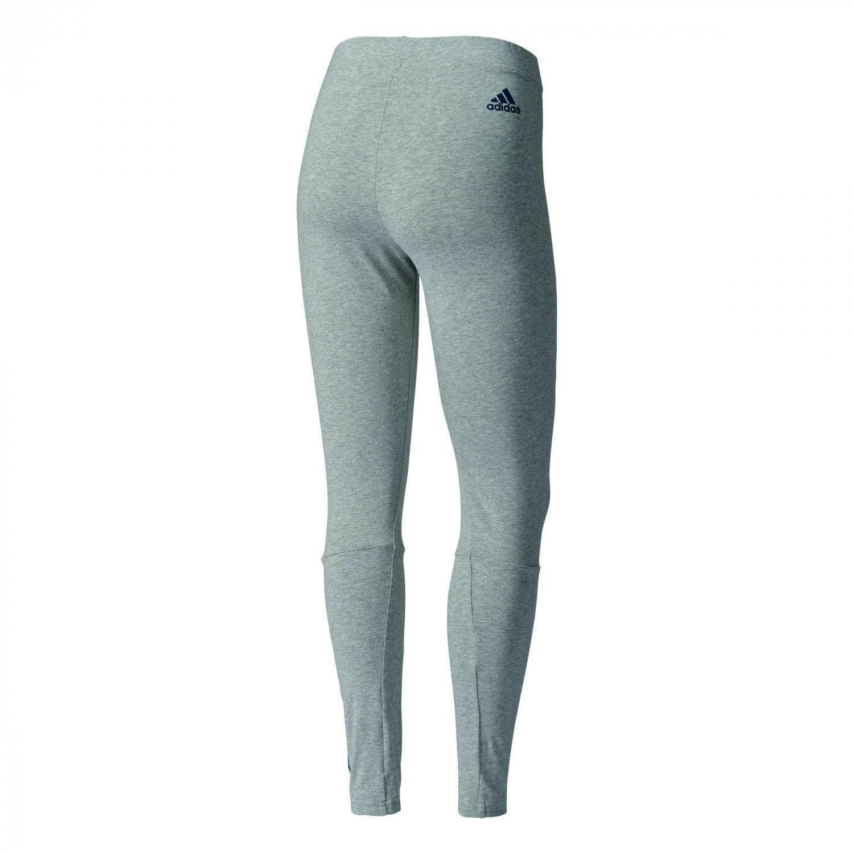 adidas adidas ess lin tight leggings donna grigi b45777