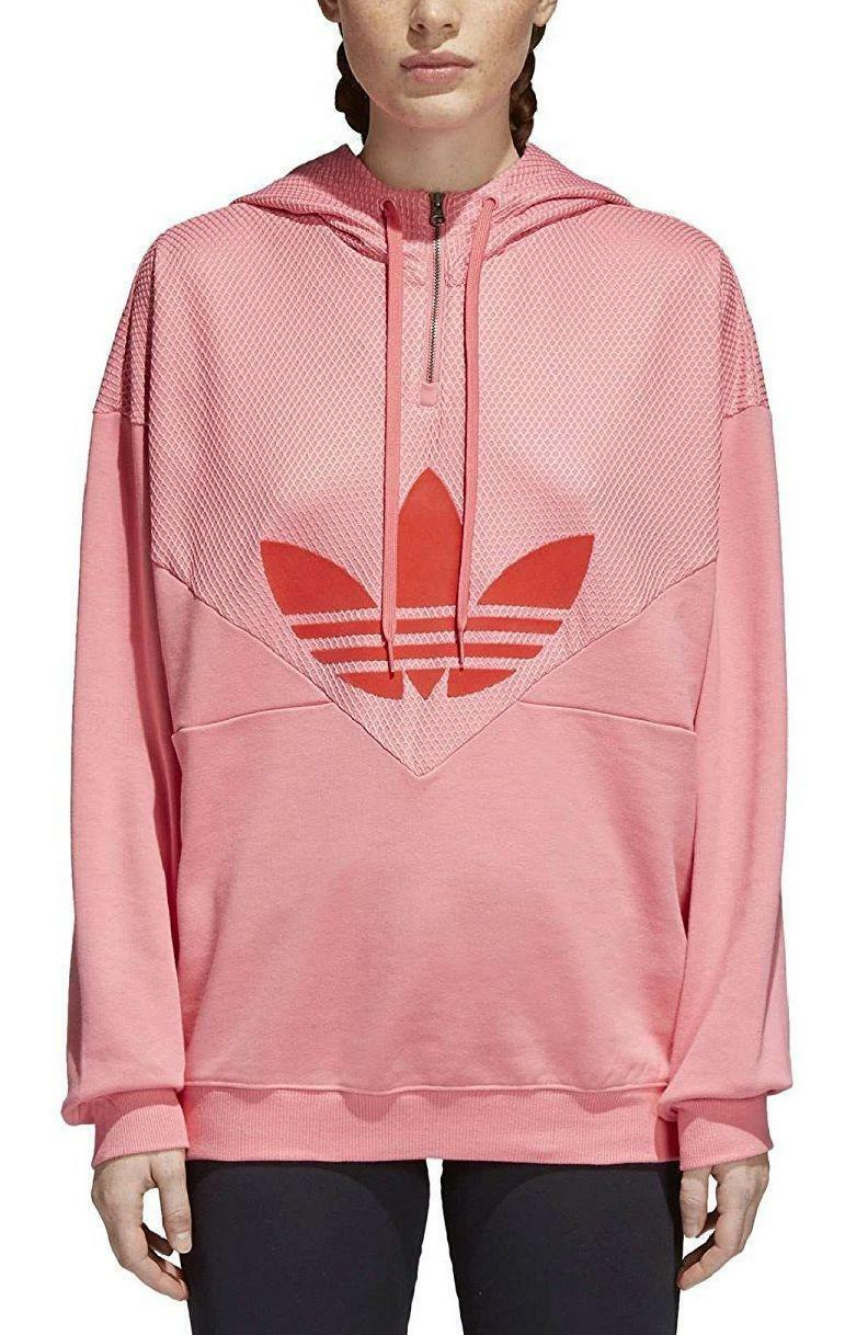 adidas adidas colorado hood felpa donna rosa ce1746