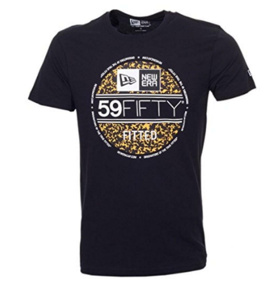 new era new era bts visor sticker tee t-shirt uomo nera