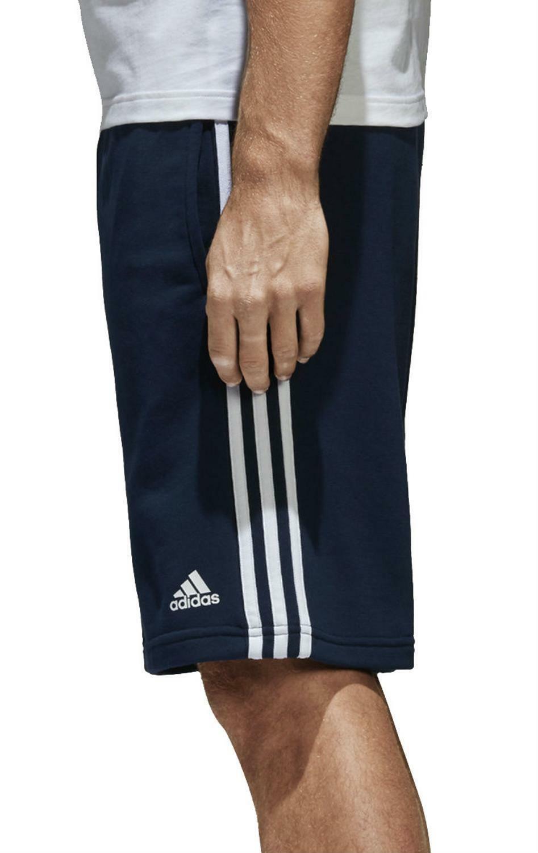 adidas adidas ess 3s pantaloncini uomo blu