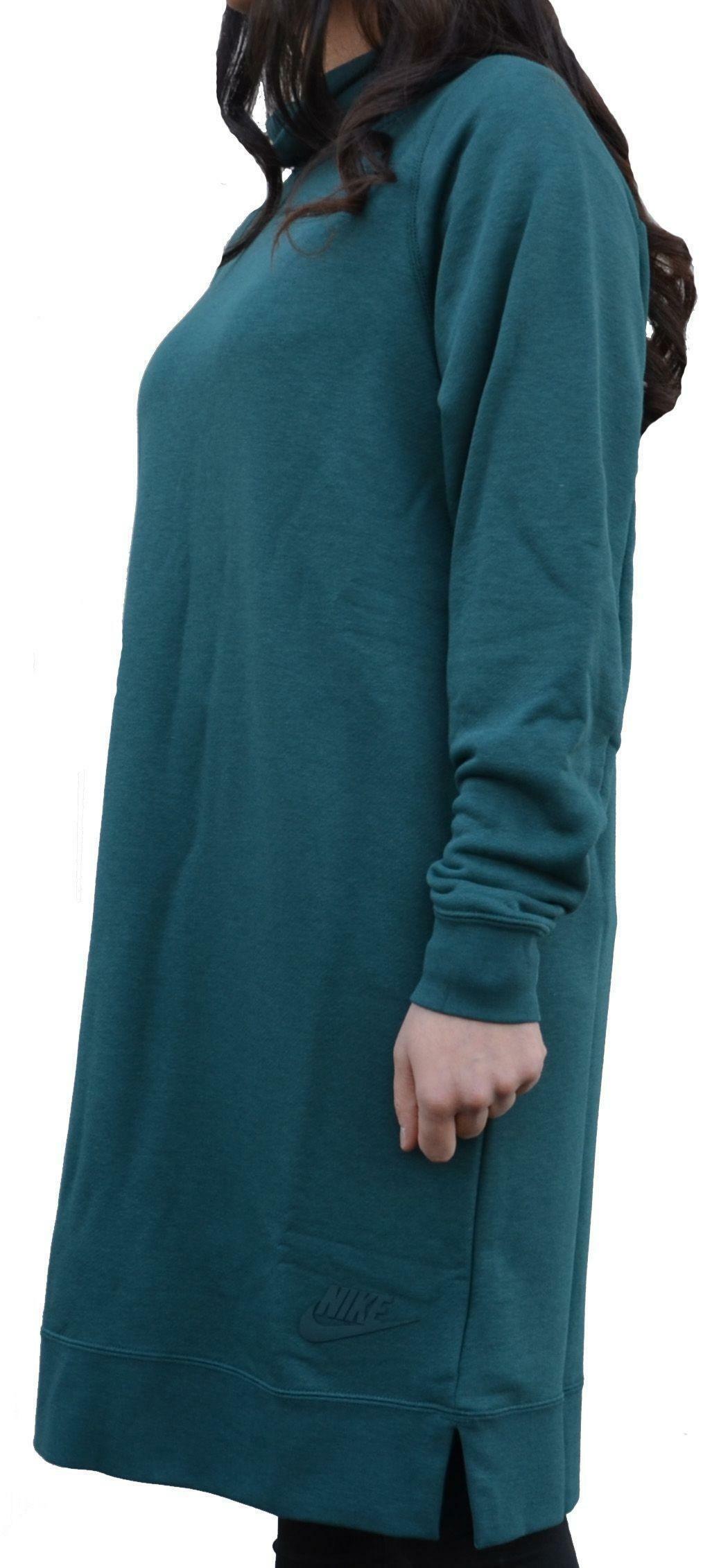 nike nike sportswear vestito donna verde