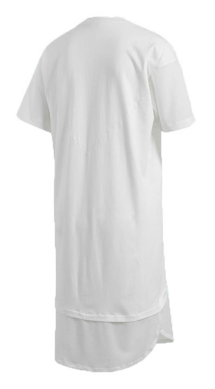 adidas adidas colorado t-shirt vestito donna bianco ce4133