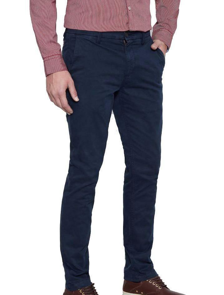 timberland timberland srgt lk strch twill pantalone uomo blu