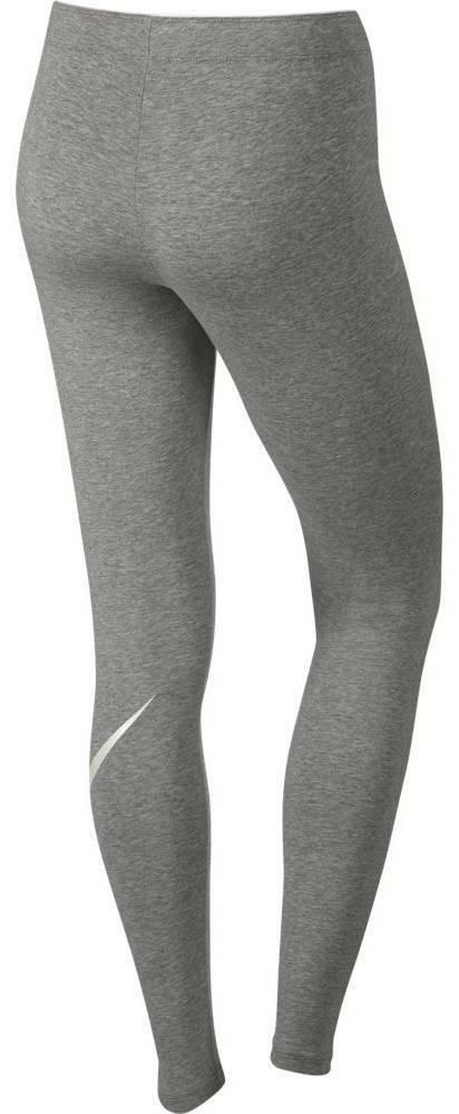 nike nike logo club leggings donna grigi